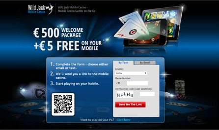 Download Mobile Casino to Your Smart Phone Devices