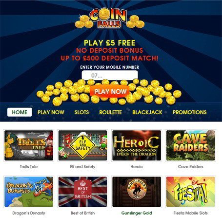 CoinFalls is a Favourite Amongst Players Who Enjoy Mobile Slot Games