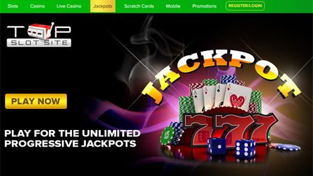 Play for the Unlimited Progressive Jackpot Slots