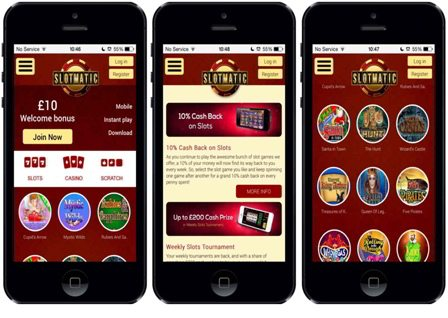 Play 3D Slotmatic Android Casino Games