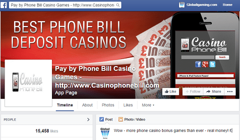 Pay by Phone Bill Casino Games FREE