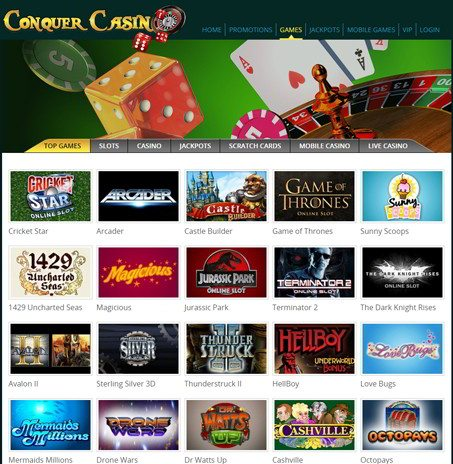 Weekly Surprises at Conquer Casino