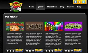 Pocket Fruity Casino Games