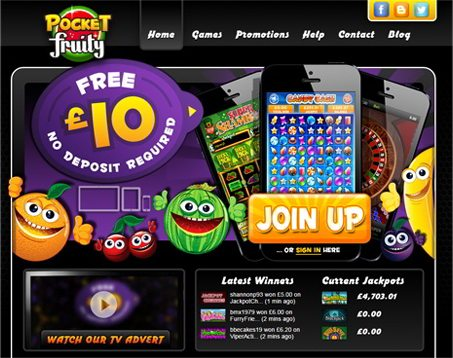 Get 10% Bonus Cash Backs on Your Weekly Pocket Fruity Deposits