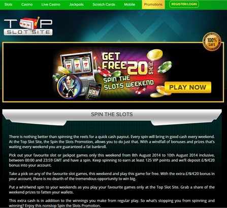 Play Slots Games at Coinfalls