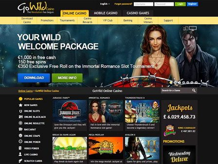 go wild casino sign up
