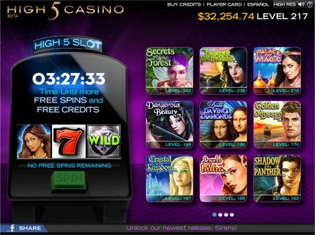 Millions of Players Enjoy Playing Authentic High 5 Games Slots for Free!