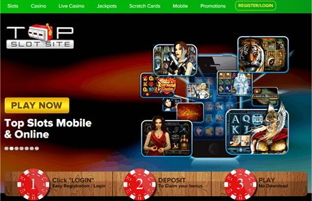 Play Immersive Jackpot Slots