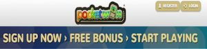 pocket win mobile casino welcome bonus