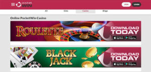 tables games for mobile casino